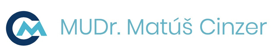 Logo MUDr. Matúš Cinzer